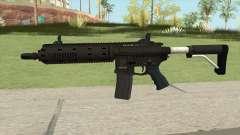 Carbine Rifle GTA V Flashlight (Default Clip) para GTA San Andreas