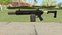 Carbine Rifle GTA V Silenced (Box Clip) para GTA San Andreas