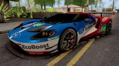 Ford Racing GT Le Mans Racecar para GTA San Andreas