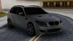 BMW X5M E70 with M5 E60 face para GTA San Andreas