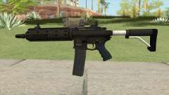Carbine Rifle GTA V V3 (Flashlight, Tactical) para GTA San Andreas