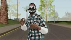 Black Guy Skin V2 para GTA San Andreas