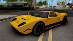 Vapid Bullet GTA 5 Yellow para GTA San Andreas