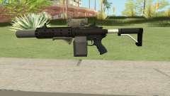 Carbine Rifle V1 (Grip, Silenced, Tactical) para GTA San Andreas