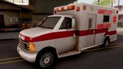 Ambulance GTA III Xbox