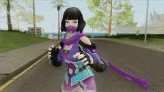 Creative Destruction NinjaGirl para GTA San Andreas