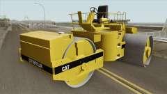 Caterpillar Road Roller para GTA San Andreas