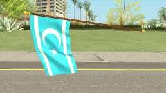 Iraqi Turkmen Flag para GTA San Andreas