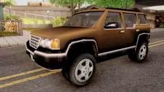 Landstalker from GTA 3 Brown para GTA San Andreas