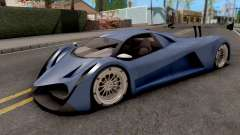 Devel Sixteen Blue para GTA San Andreas