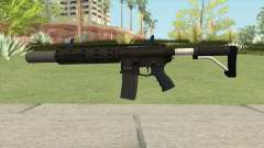 Carbine Rifle GTA V V2 (Silenced, Flashlight) para GTA San Andreas
