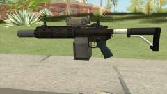 Carbine Rifle GTA V V1 (Silenced, Tactical) para GTA San Andreas