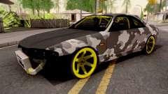 Nissan Skyline R33 Drift Camo v2