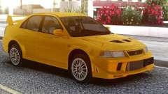 Mitsubishi Lancer Evolution VI Yellow para GTA San Andreas