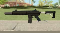 Carbine Rifle GTA V Silenced (Default Clip) para GTA San Andreas