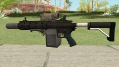 Carbine Rifle GTA V Complete Upgrades (Box Clip) para GTA San Andreas