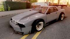 Elegy Drift Grey para GTA San Andreas