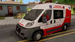 Fiat Ducato Ambulancia de Proteccion Civil