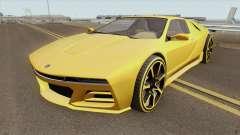 Ubermacht SC1 GTA V para GTA San Andreas