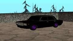 Negro VAZ 2107 para GTA San Andreas