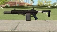 Carbine Rifle GTA V Box (Grip, Silenced) para GTA San Andreas
