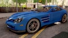 Mercedes-Benz SLR 722 Blue para GTA San Andreas