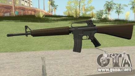 M16A2 Partial Desert Camo (Stock Mag) para GTA San Andreas