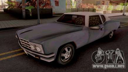 Yardie Lobo GTA III Xbox para GTA San Andreas