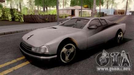Cheetah GTA III Xbox para GTA San Andreas