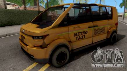Metro Taxi 2054 para GTA San Andreas