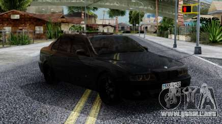 BMW M5 E39 Black para GTA San Andreas