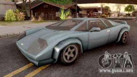Infernus from GTA VC para GTA San Andreas