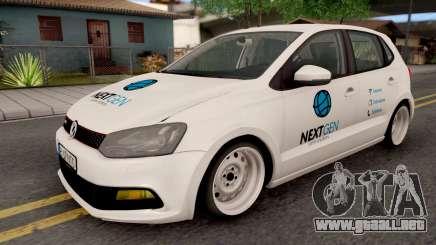 Volkswagen Polo GTI 2014 v2 para GTA San Andreas