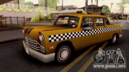 Cabbie GTA III Xbox para GTA San Andreas