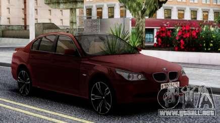 BMW 530XD E60 Cherry para GTA San Andreas