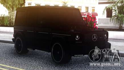 Mercedes-Benz G-Class Black para GTA San Andreas