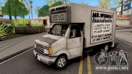 Mr Wongs GTA III Xbox para GTA San Andreas