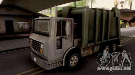 Trashmaster GTA III Xbox para GTA San Andreas