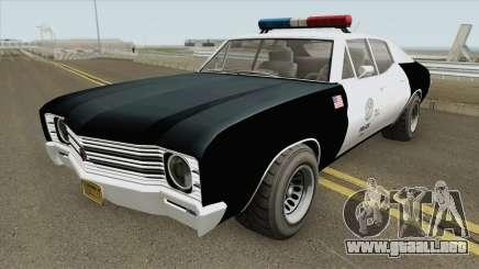 Declasse Tulip Police Cruiser GTA V para GTA San Andreas