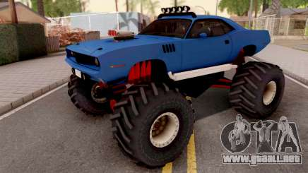 Plymouth Hemi Cuda Monster Truck 1971 para GTA San Andreas
