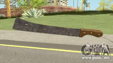 Machete (PUBG) para GTA San Andreas