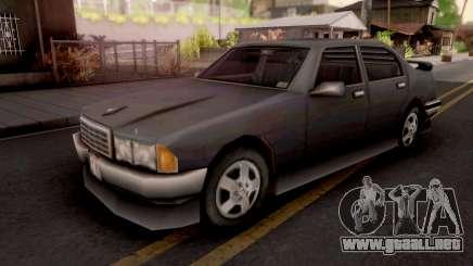 Mafia Sentinel GTA III para GTA San Andreas