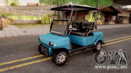 Caddy from GTA VC para GTA San Andreas