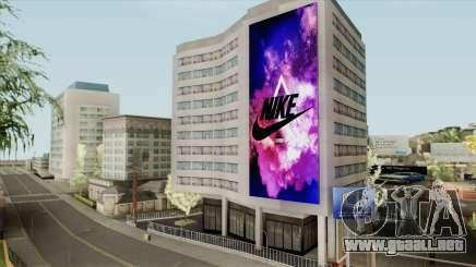 Nike Billboard para GTA San Andreas