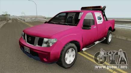 Nissan Frontier TowTruck (SA Style) para GTA San Andreas