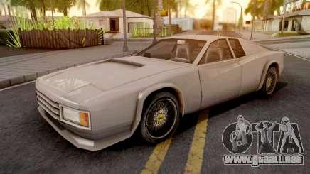 Cheetah GTA VC Xbox para GTA San Andreas
