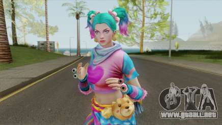 Skadi (Such Cold) From Smite para GTA San Andreas