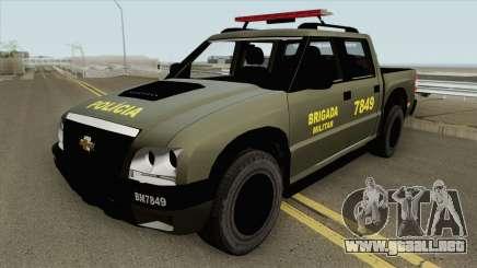 Chevrolet S10 (Brigada Militar) para GTA San Andreas