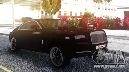 Rolls-Royce Wraith Stance para GTA San Andreas