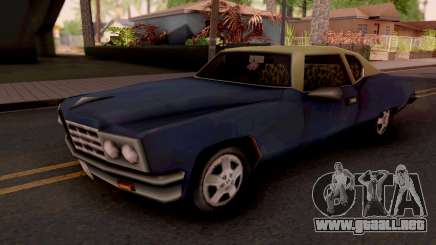 Yardie Lobo GTA III para GTA San Andreas